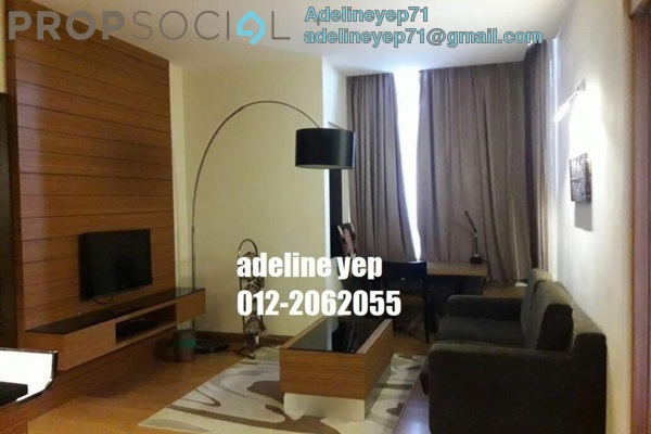 For Rent Serviced Residence at Dua Sentral, Brickfields Freehold Fully Furnished 2R/1B 3.5k