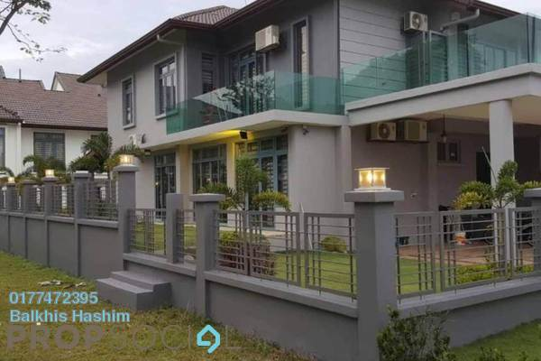 For Sale Superlink at Fernlane, Denai Alam Freehold Semi Furnished 5R/5B 1.55m