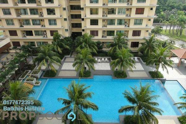 For Sale Condominium at Sri Acappella, Shah Alam Freehold Fully Furnished 3R/2B 520k