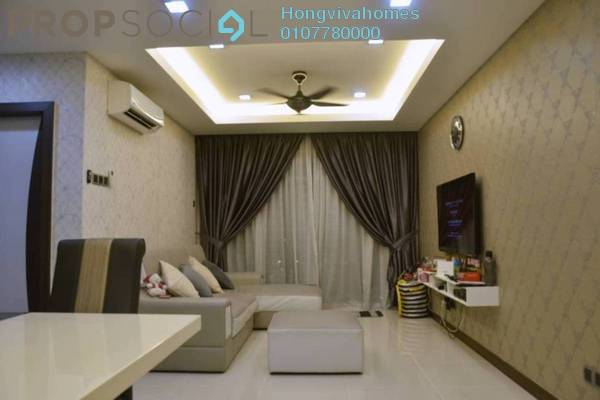 For Sale Condominium at Panorama Residences, Sentul Freehold Fully Furnished 3R/2B 480k