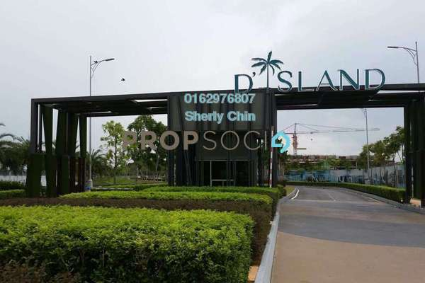 For Sale Terrace at Nautilus @ D'Island, Puchong Leasehold Unfurnished 5R/4B 1.25m