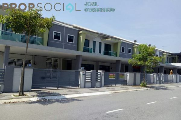 For Sale Terrace at Tiara Lake Park, Ipoh Freehold Unfurnished 4R/4B 395k