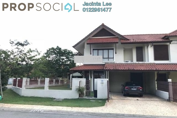 For Sale Superlink at Lagenda 1, Bukit Jelutong Freehold Semi Furnished 5R/5B 1.02m