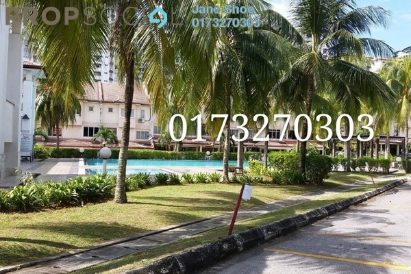 For Rent Townhouse at Bukit OUG Townhouse, Bukit Jalil Freehold Semi Furnished 3R/3B 1.7k