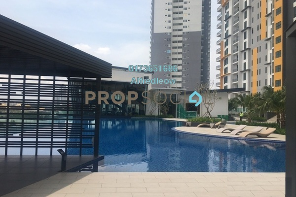 For Sale Condominium at Parkhill Residence, Bukit Jalil Freehold Unfurnished 4R/2B 570k