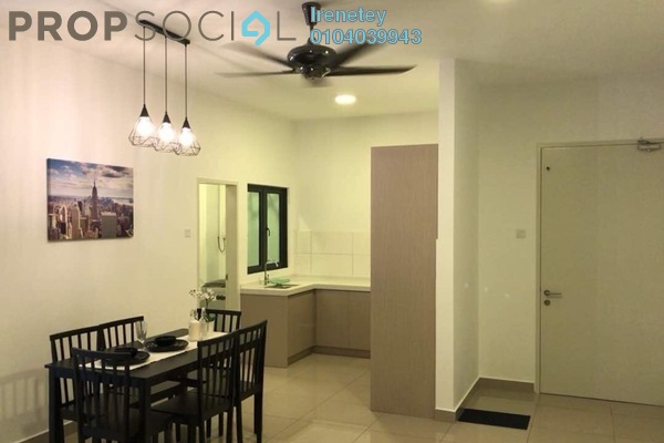For Rent Condominium at The Holmes, Bandar Tun Razak Freehold Fully Furnished 3R/2B 2.2k