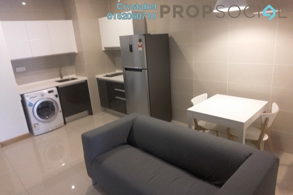 For Rent Condominium at KL Gateway, Bangsar South Freehold Fully Furnished 1R/1B 2k