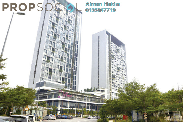 For Rent Duplex at The Place, Cyberjaya Freehold Fully Furnished 1R/1B 1.1k