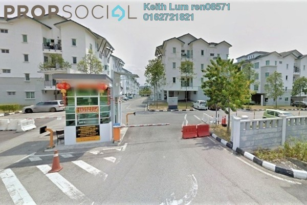 For Rent Townhouse at Bayan Villa, Seri Kembangan Freehold Unfurnished 3R/2B 1.2k