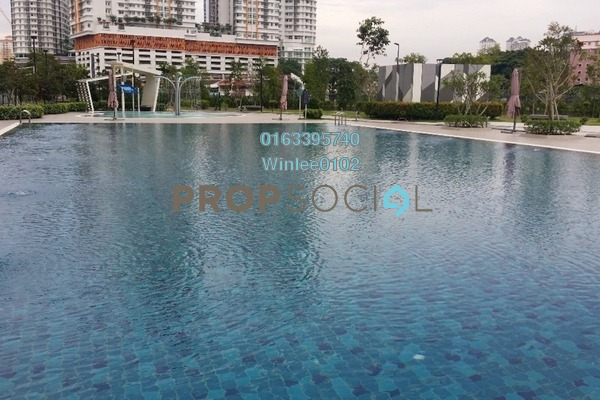 For Rent Condominium at Riverville Residences, Old Klang Road Freehold Semi Furnished 3R/3B 1.7k