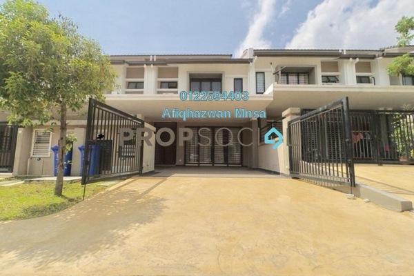 For Sale Terrace at Saffron Hills, Denai Alam Freehold Semi Furnished 4R/3B 760k