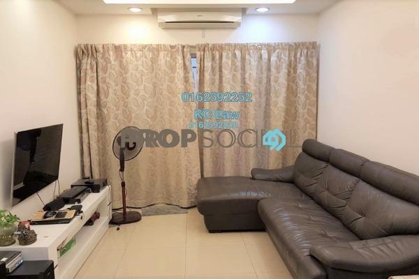 For Sale Condominium at Kinrara Mas, Bukit Jalil Freehold Semi Furnished 3R/2B 460k