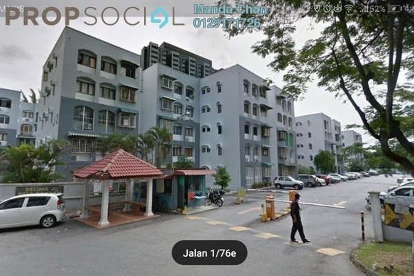 For Sale Apartment at Delima J Apartment, Desa Pandan Freehold Unfurnished 3R/2B 345k