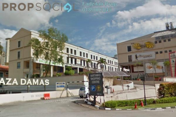 For Sale Office at Plaza Damas, Sri Hartamas Freehold Semi Furnished 0R/0B 650k