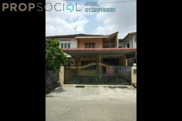 For Sale Terrace at Taman Boon Bak, Ipoh Leasehold Semi Furnished 4R/2B 230k