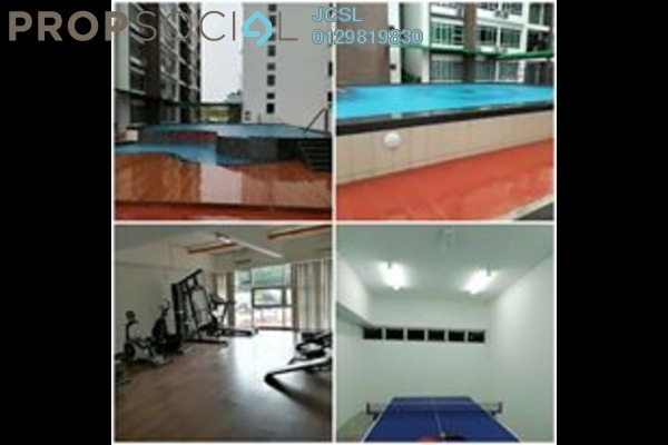 For Rent Condominium at Bandar Seri Botani, Ipoh Freehold Semi Furnished 3R/2B 1.3k