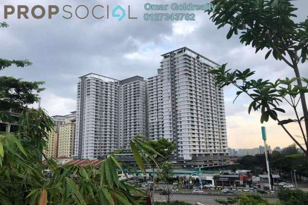 For Rent Condominium at Platinum Hill PV2, Setapak Freehold Unfurnished 4R/2B 1.5k