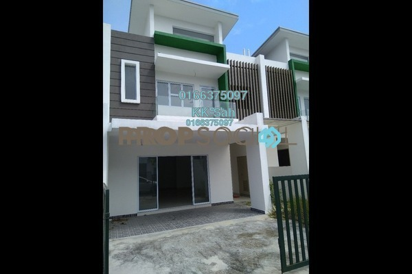 For Sale Superlink at The Clover Homes @ Laman Semanggi, Semenyih Freehold Unfurnished 4R/4B 510k