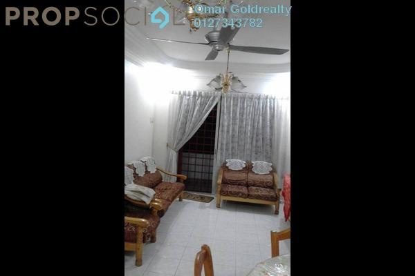 For Sale Condominium at Idaman Sutera, Setapak Freehold Semi Furnished 3R/2B 300k