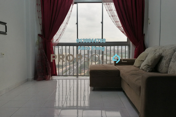 For Sale Apartment at Century Park, Batu Uban Freehold Semi Furnished 3R/2B 375k