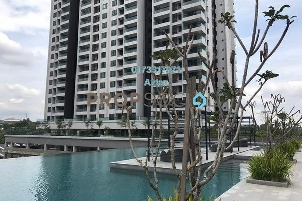 For Sale Condominium at Paragon 3, Bandar Putra Permai Freehold Unfurnished 4R/2B 570k