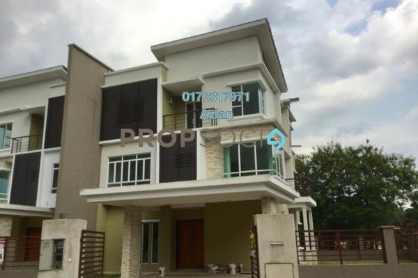 For Sale Semi-Detached at Taman Hulu Langat Jaya, Batu 9 Cheras Freehold Unfurnished 7R/6B 1.2m
