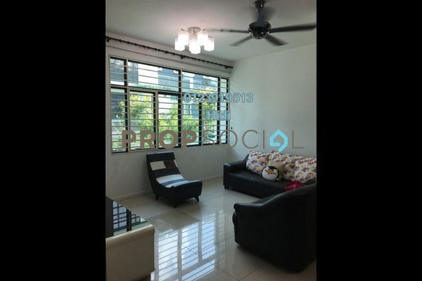 For Rent Townhouse at Park Villa, Bandar Bukit Puchong Freehold Semi Furnished 3R/3B 1.6k