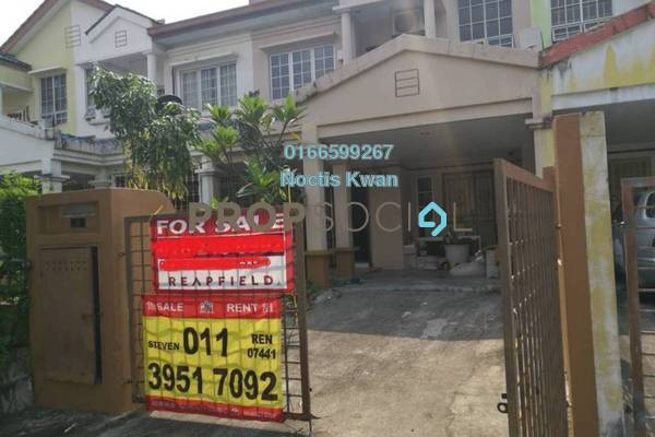For Sale Terrace at BP10, Bandar Bukit Puchong Freehold Semi Furnished 4R/3B 645k