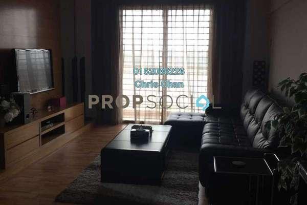 For Sale Condominium at Fortune Park, Seri Kembangan Freehold Semi Furnished 4R/2B 530k