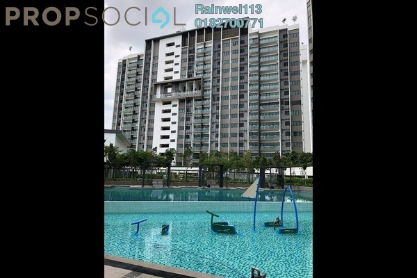 For Sale Condominium at Skyvilla @ D'Island, Puchong Freehold Unfurnished 3R/2B 650k
