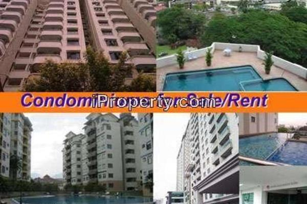 For Rent Condominium at Kinta Riverfront, Ipoh Leasehold Semi Furnished 3R/2B 2.8k