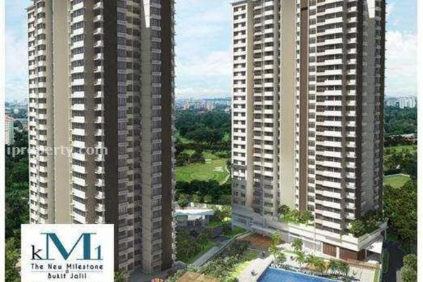 For Sale Condominium at KM1, Bukit Jalil Freehold Semi Furnished 3R/3B 800k