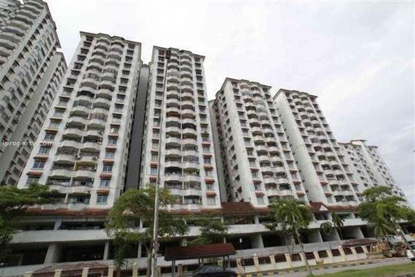 For Sale Condominium at Bukit OUG Condominium, Bukit Jalil Freehold Semi Furnished 3R/2B 510k