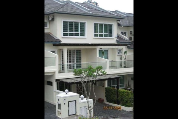 For Rent Terrace at Impian Villa, Mont Kiara Freehold Semi Furnished 6R/5B 3.8k