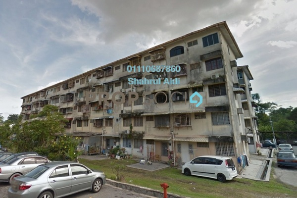 For Sale Apartment at Taman Megah, Cheras South Freehold Fully Furnished 2R/1B 180k