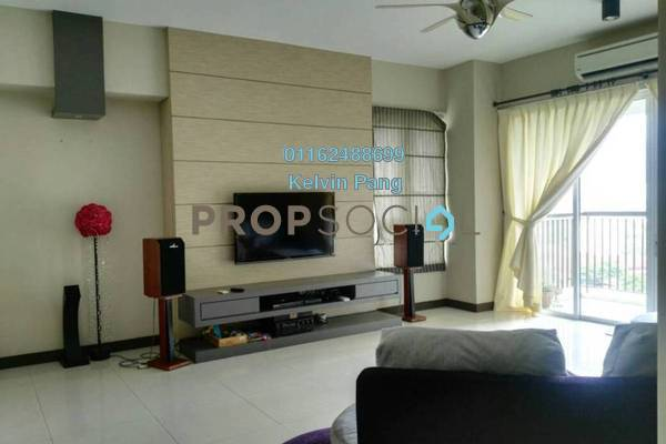 For Sale Condominium at Platino, Gelugor Freehold Fully Furnished 3R/4B 1.25m