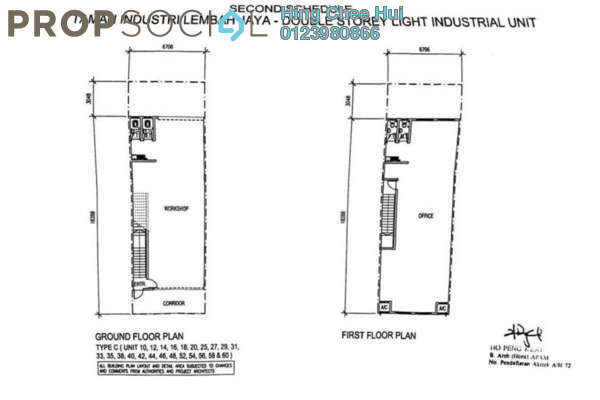 For Sale Factory at Taman Industri Lembah Jaya Flat, Ampang Freehold Unfurnished 1R/1B 1.13m