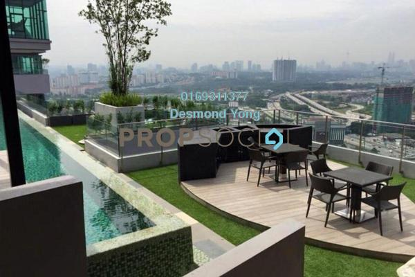 For Sale Condominium at The Leafz, Sungai Besi Freehold Semi Furnished 3R/3B 850k