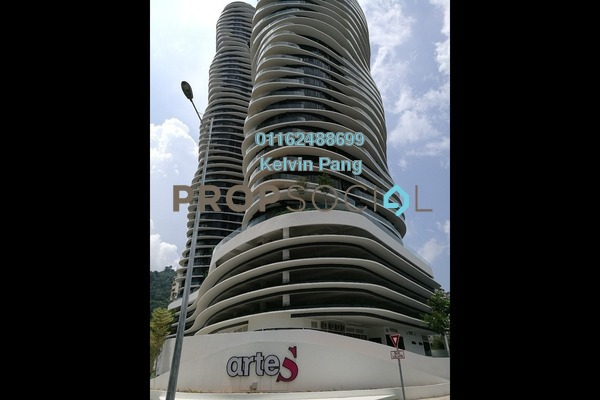 For Sale Condominium at Arte S, Bukit Gambier Freehold Unfurnished 3R/2B 895k