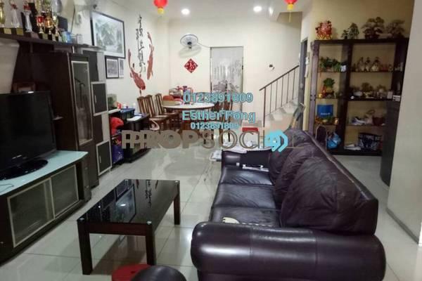 For Sale Terrace at Taman Sri Putra Mas, Sungai Buloh Freehold Fully Furnished 4R/3B 580k