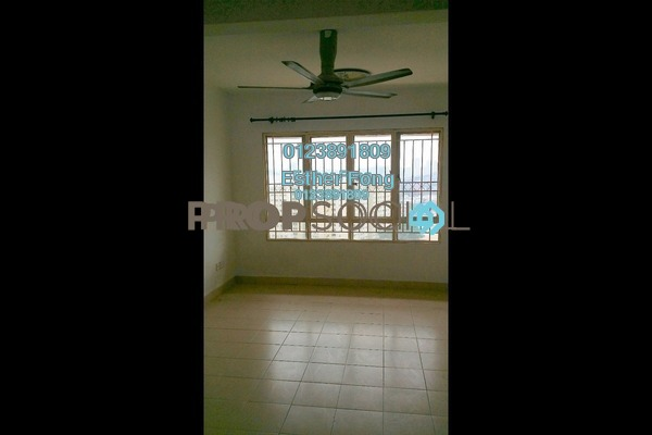 For Rent Apartment at Plaza Metro Prima, Kepong Freehold Semi Furnished 3R/2B 1.1k