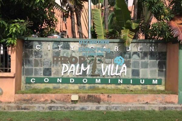 For Sale Duplex at City Garden Palm Villa, Pandan Indah Freehold Semi Furnished 5R/4B 778k