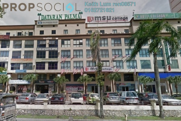 For Sale Office at Dataran De Palma, Ampang Freehold Semi Furnished 0R/0B 2m