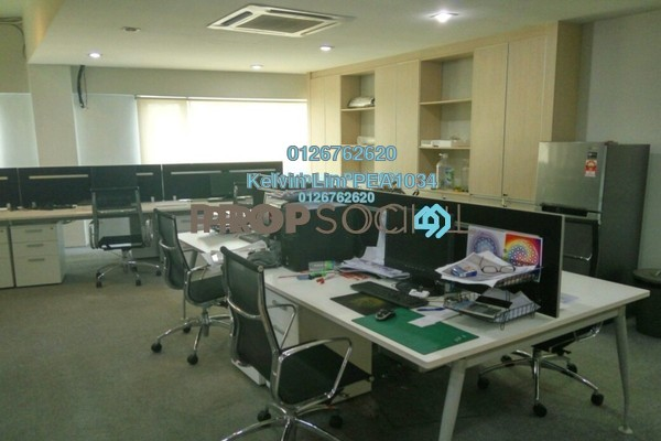 For Sale Office at SunwayMas Commercial Centre, Kelana Jaya Freehold Semi Furnished 4R/2B 740k