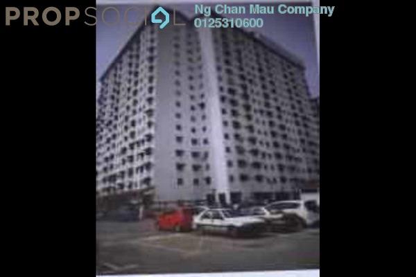 For Sale Apartment at Pangsapuri Rimba 2, Shah Alam Freehold Semi Furnished 0R/0B 130k