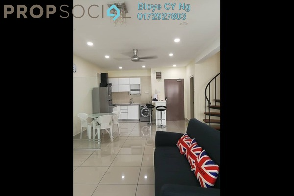 For Rent Condominium at One South, Seri Kembangan Freehold Fully Furnished 2R/2B 2.4k