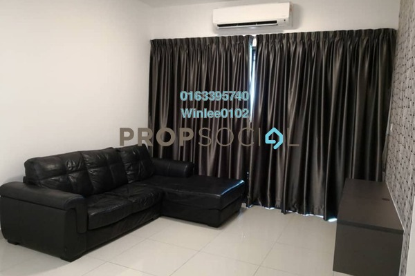 For Rent Condominium at Riverville Residences, Old Klang Road Freehold Fully Furnished 3R/2B 2k