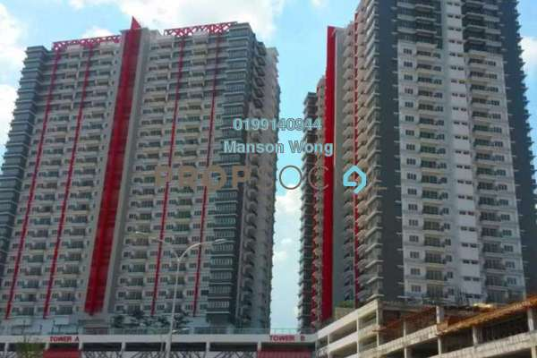 For Sale Condominium at Koi Prima, Puchong Freehold Semi Furnished 3R/2B 380k