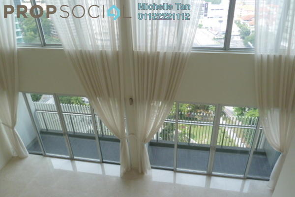 For Rent Duplex at Dua Residency, KLCC Freehold Semi Furnished 5R/6B 13k