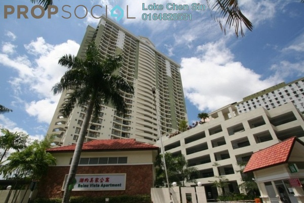 For Sale Condominium at Relau Vista, Relau Freehold Fully Furnished 3R/2B 350k